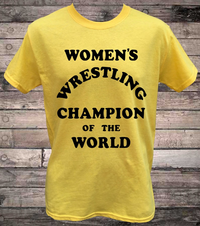 99b7137e Womens Wrestling Champion of the World Intergender Wrestling | Etsy