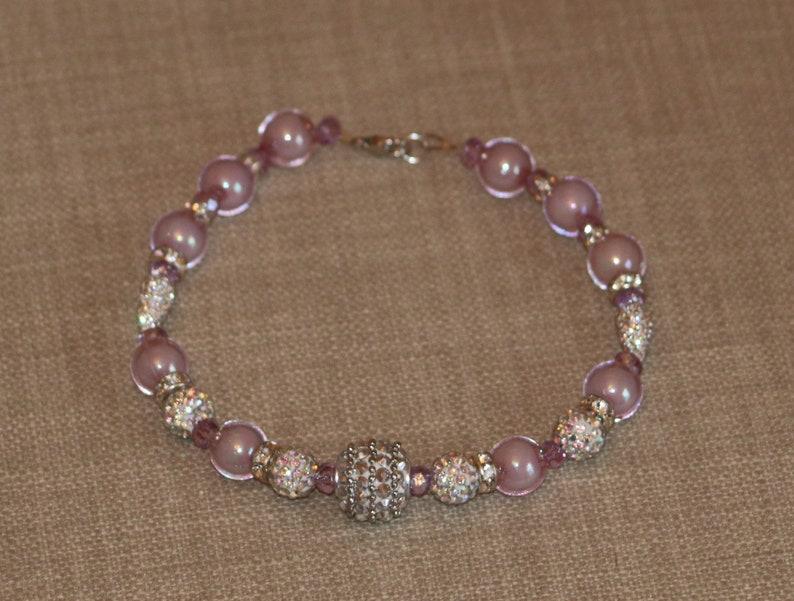 Posh Puppy Purple Necklace
