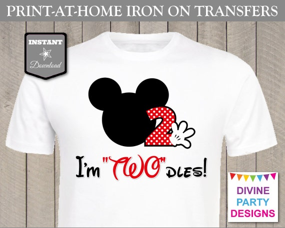 image regarding Printable Iron on identify Fast Down load Print at House Clic Mouse Im TWOdles
