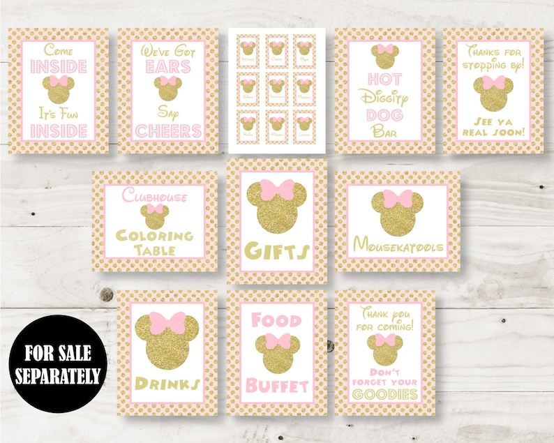 instant download printable glitter mouse 2x3 thank  etsy