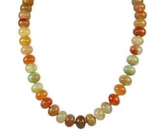 Brazilian Rainbow Agate Necklace