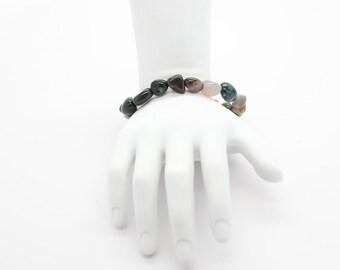 Ocean Jasper Pebble Bracelet
