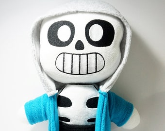 Sans Plush Inspired by Undertale 18 Inches Tall (Unofficial) Huggable Size!!