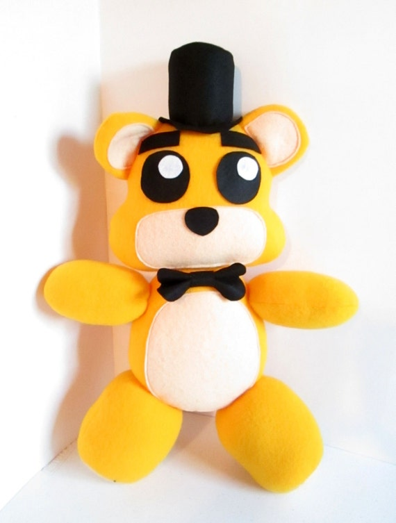 Golden Freddy Plush Inspired By FNAF Five Nights At