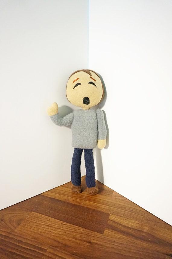 2PC//Set Baldi/'s Basics in Education and Learning Plush 25cm Figure Baldi Stuffed