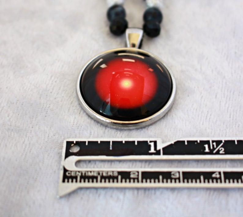 2001 Necklace Geek Jewellery Space Odyssey Computer Jewellery Fandom Jewellery Hal Necklace Sci-fi Jewellery Nerd Gift HAL 9000