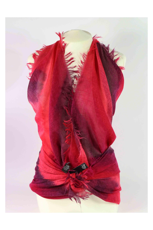 Foulard rouge   Écharpe laine en laine biologique   Écharpe en laine Écharpe  gots 6fb55b d02c3d48cf3