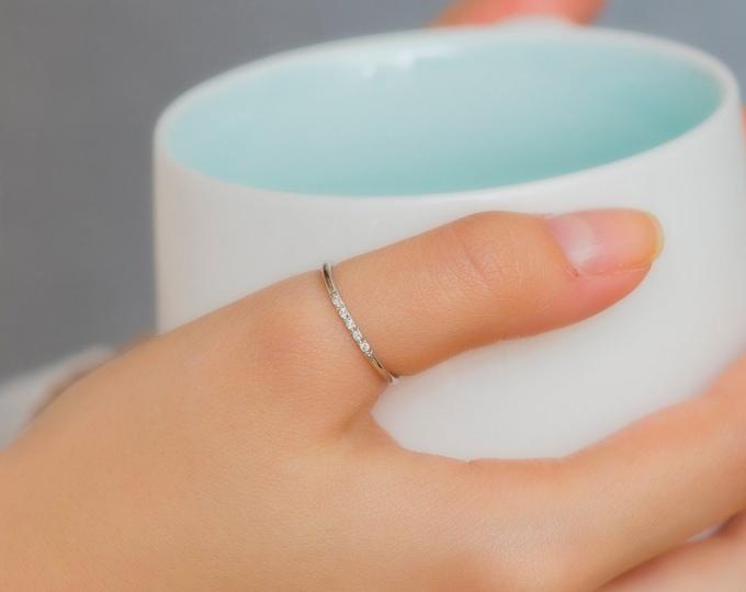 Thumb Ring, Thumb Rings, Silver Thumb Ring, Gold Thumb Ring, Birthstone Thumb Ring, Dainty Ring, Diamond Ring, Gold Ring, Mothers Gift