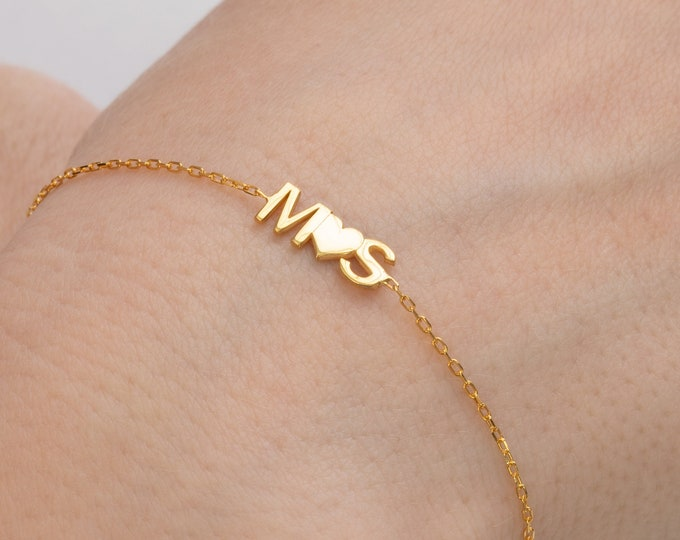 Couples Bracelet | Custom Name Bracelet | Personalized Name Bracelet | Name Bracelet | Gold Name Bracelet | Name Plate Bracelet