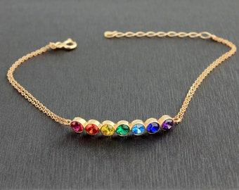 Chakra Bracelet, Yoga Bracelet, 7 Chakra Bracelet, Gemstone Bracelet, Chakra Jewelry, Meditation Bracelet, Energy Bracelet, Healing Bracelet