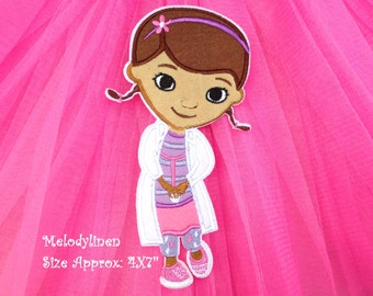 Disney Junior Patch Official Disney Iron On Applique Doc McStuffin Applique Doc McStuffin Iron On Patch