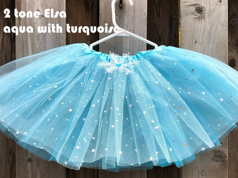 3 layers Frozen Tutu frozen birthday outfit frozen party image 1
