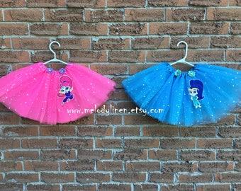 Shimmer & Shine tutu Shimmer outfit Shine outfit Shimmer Shine dress Shimmer Shine party favor best friend tutu