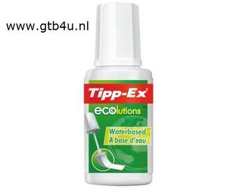 Environmentally friendly Tipp-Ex Ecolution Correction Fluid - 20ml
