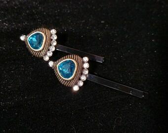 Pair of Bobby Pin Hair Jewelry