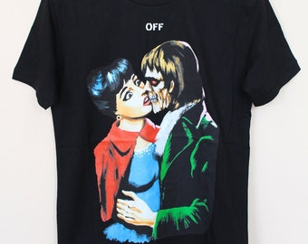 54bf9fee7 Off-white style T shirt,Off-white T Shirt ,Off white Shirt,Off-white Print t  shirt Off- White Simpson ,Off-White Impressionism,Off-White