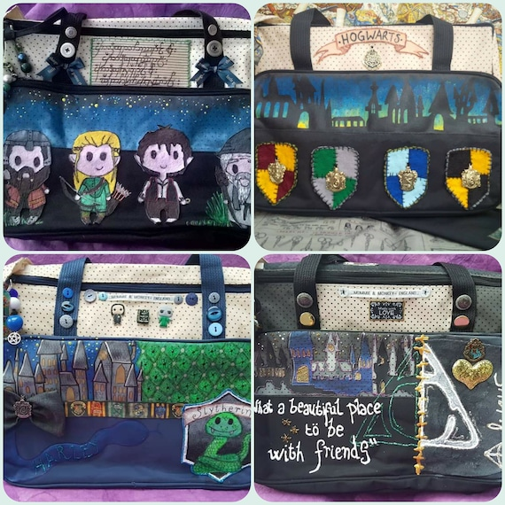 SMALL Custom  Harry Potter  Lord of the Rings  Once Upon a time  Game of thrones Baby Diaper Changing Bag