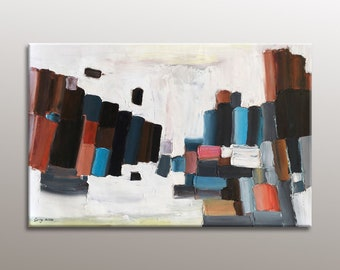 Oil Painting Abstract Painting Landscape Modern By