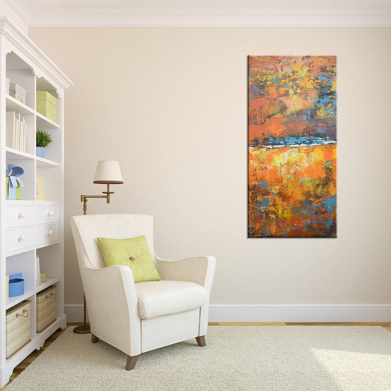 Abstract Painting Contemporary Art Large Canvas Painting Etsy