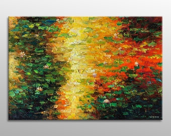 Abstract Painting, Oil Painting, Canvas Painting, Original Art, Modern Painting, Coffee Wall Art, Oil Painting Abstract, Large Abstract Art