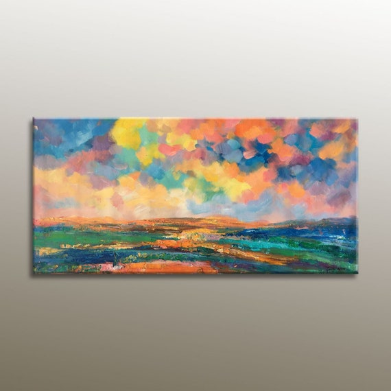 Oil Painting Abstract Landscape Painting Original Abstract Art Contemporary Art Painting Abstract Large Canvas Painting Canvas Art