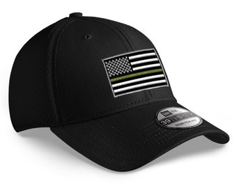 079a1904 Thin green line hat | Etsy