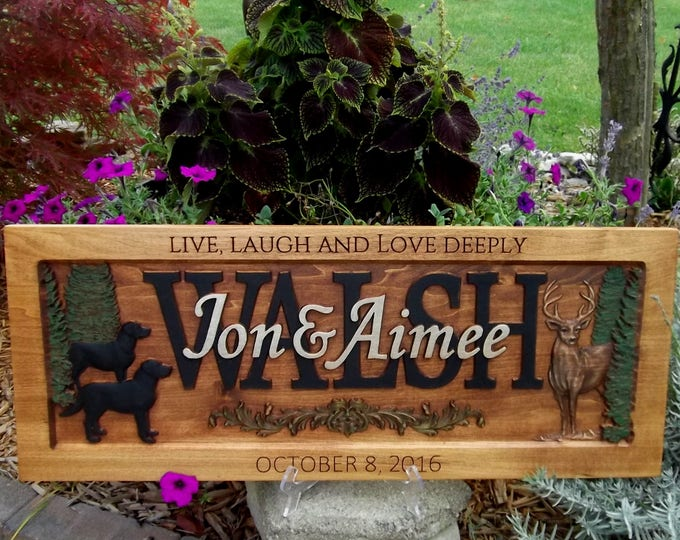 Deer, Live, Laugh, Love, Deeply