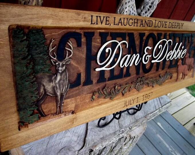 Deer Live Laugh Love Deeply