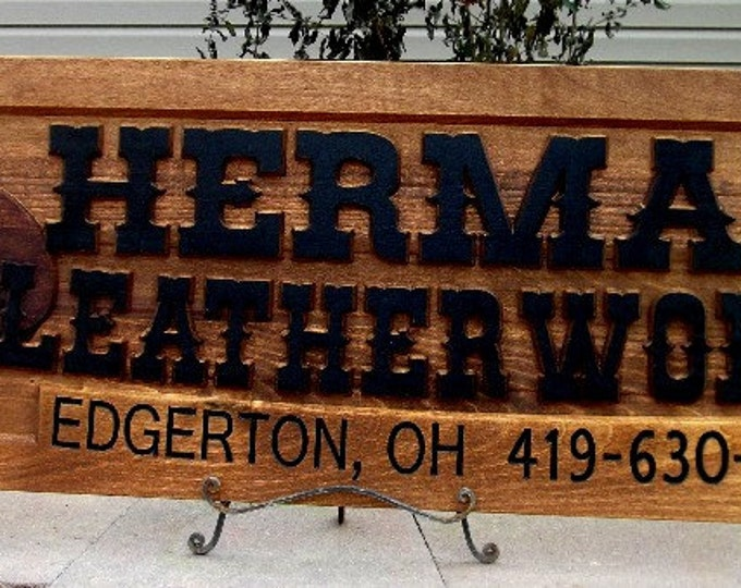 Custom cowboy / Shop sign / Craft store / Personalized
