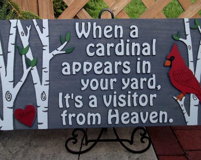 When a Cardinal appears
