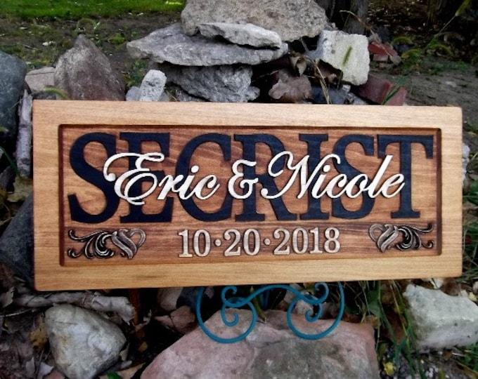 Rustic finish Wedding, Anniversary Plaque
