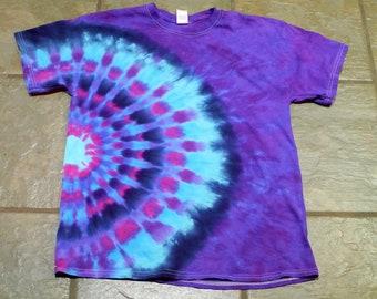 532aca5bb450 Tie Dyed T-Shirt  Star Design  Unisex Large
