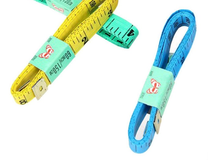 One Piece 150cm / 60 Inches Measuring Tape. Flexible Ruler. Ribbon Tape
