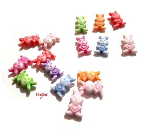 11mm 140 ASSORTED COLOURS STAR BUTTONS CRAFT Size 18