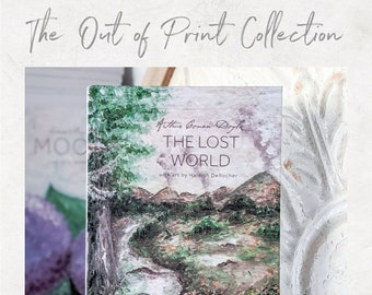 The Lost World by Arthur Conan Doyle - The Out of Print Collection