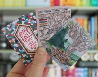 Wizard Stuff Sticker Set