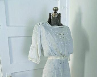 E- Pattern: Bessie Day Dress, 1910-1915 (sizes 20-28)