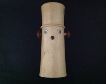 Hand Turned Spalted Beech Wood Money Box
