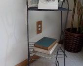 Vintage telephone plant stand