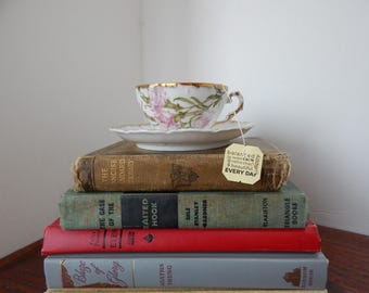 Pink Carnation tea cup