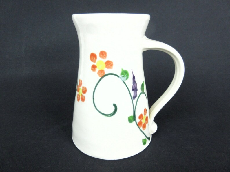 Tall Mug Travel Large CoffeeEtsy Extra Pottery Ceramic m8wn0Nv