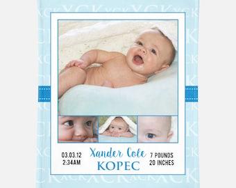 Photo Baby Blanket Custom Baby Blanket Custom Photo Baby Blanket Custom Baby Swaddle New Baby Photo Gift Custom Baby Gift Personalized Baby