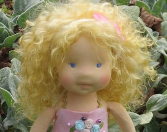 Waldorf  fairy doll Flora - 16'' Waldorf inspired doll