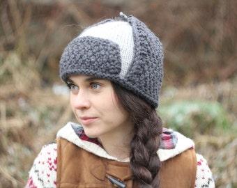 Burgundy Brown hat womens hat Crochet Hat Ear Flap Hat  7279cd291a5