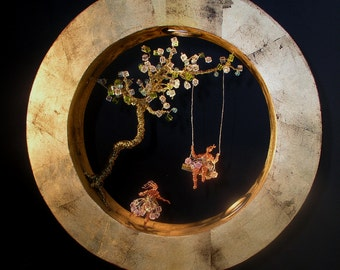 "DREAM Collection ""Circle Dreams"" Ceiling or Wall Light"