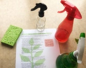 Printable Cleaning Oil Recipes / Cleaning with Essential Oils / Printable Handout / Resource for Make and Take or DIY
