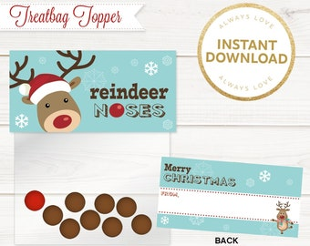 picture relating to Reindeer Noses Printable referred to as Reindeer noses Etsy