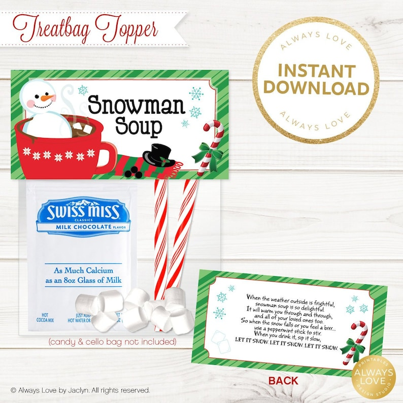 image relating to Snowman Soup Printable Tags known as Snowman Soup Treatbag Topper, Snowman Want, Snowman Soup Tag, Xmas Prefer, Holiday vacation Snacks, Printable, Electronic Report