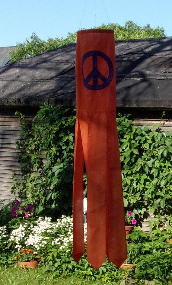 Medium Peace Windsock