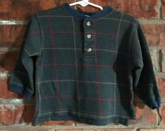 32ea29087adf 18 month plaid shirt